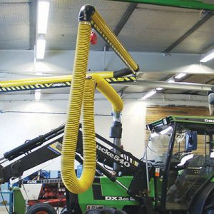 Articulating Vehicle Exhaust Extractor - Farm Equipment