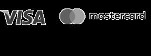 Logo VISA and Mastercard